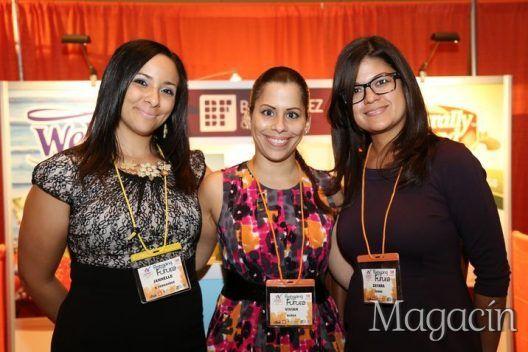 1 de febrero 2017. Coctel, Women Who Lead Summit. En la foto- Janelle Vazquez, Vivian Vargas, Zayara Burea. Foto- Nichole Saldarriaga