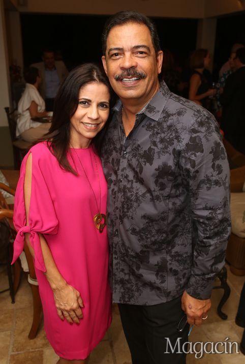 Bettina Mercado y Jose Vega. Coctel Angeles Vivientes. Fotografo Jose Rafael Perez Centeno/ ESPECIAL PARA MAGACIN