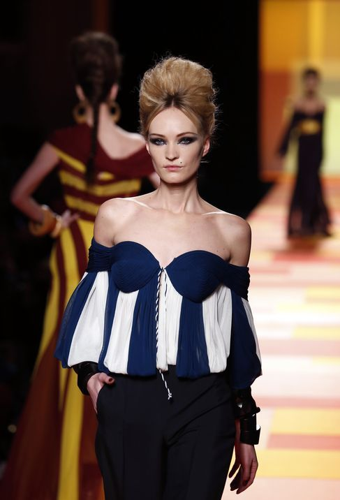 FASHION-FRANCE-HAUTE-COUTURE-GAULTIER