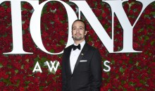 Lin-Manuel Miranda arrives at the Tony Awards at the Beacon Theatre on Sunday, June 12, 2016, in New York. (Photo by Charles Sykes/Invision/AP)