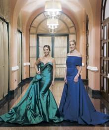 11 de diciembre de 2015. Condado Vanderbilt Hotel, San Juan.  En la foto: Madesly Martinez y Gladira Robles.  Gala anual del Museo de Arte de Ponce en el Condado Vanderbilt Hotel en San Juan.  Erika P. Rodriguez / GFR Media 2015 -----