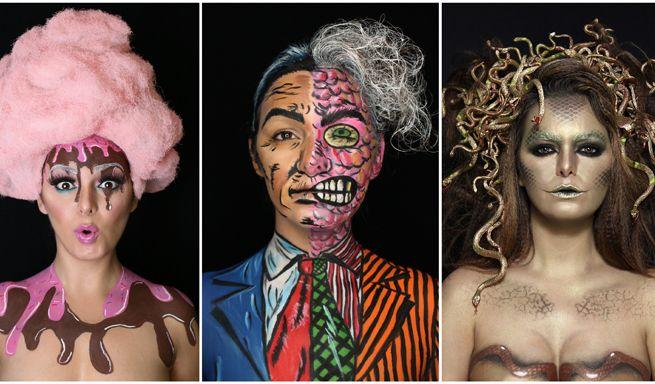 31 caras de Halloween